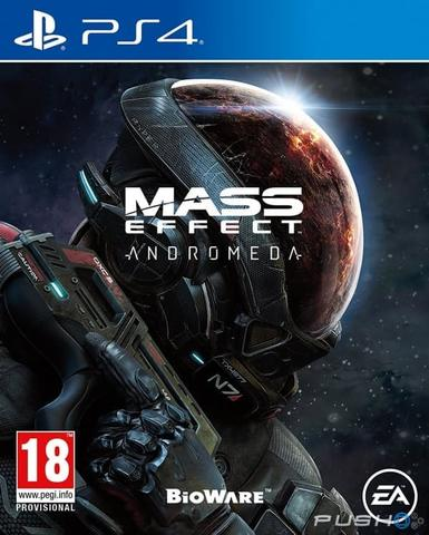 Kaset PS4 Mass Effect Andromeda Reg 3 New