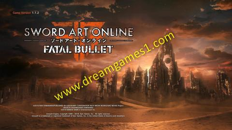 PC GAMES Sword Art Online Fatal Bullet