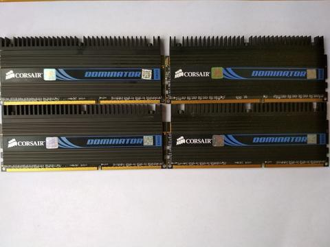 Ram Corsair Dominator 4x2 GB DDR3