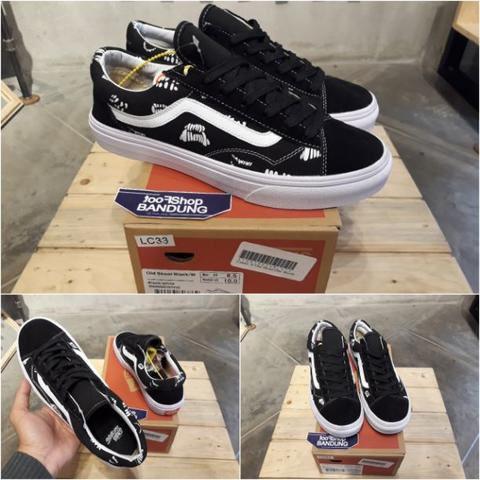 "Vans Old Skool Sankuanz ""Year Of The Dog"" (Free tas sepatu)"