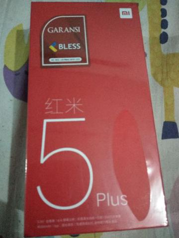 Xiaomi Redmi 5 Plus 3/32 (gold) - Distributor
