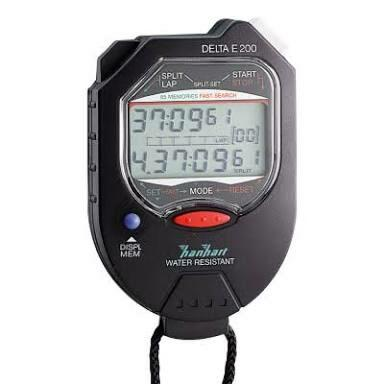 Jual STOPWATCH Digital for Analytical Measurement and Testing/Timing. HANHART DELTA .