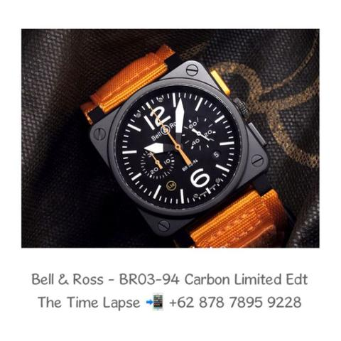 Bell & Ross - BR 03-94 Carbon Orange 'Limited Edition'