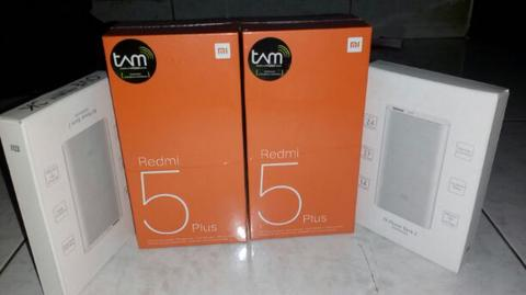 Xiaomi Redmi 5 plus 4/64 Black segel Resmi TAM