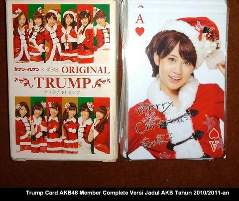 Trump Card / Kartu Remi Edisi AKB48 Collector Edition