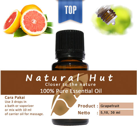 100% PURE ESSENTIAL OIL (GRAPEFRUIT) - 10ml