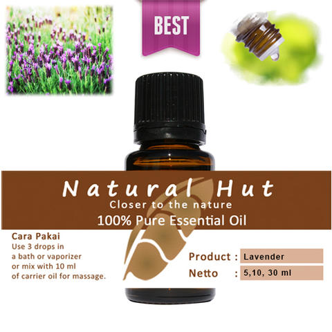 100% PURE ESSENTIAL OIL (LAVENDER) - 30ml
