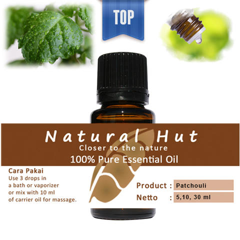 100% PURE ESSENTIAL OIL (PATCHOULI) - 10ml