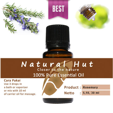 100% PURE ESSENTIAL OIL (ROSEMARY) - 30ml