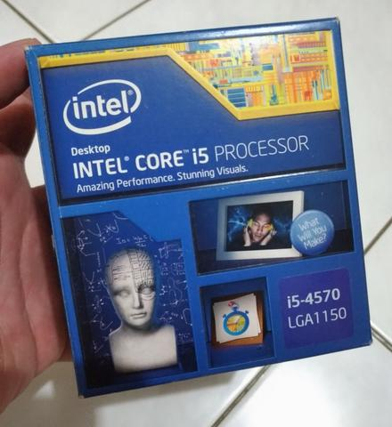 Paket Intel Core i5 4570 dan Msi B85i gaming 1150