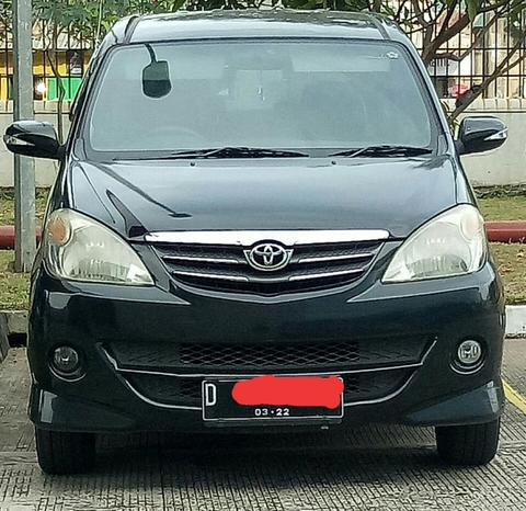 Jual Toyota Avanza Type S 2008 Manual