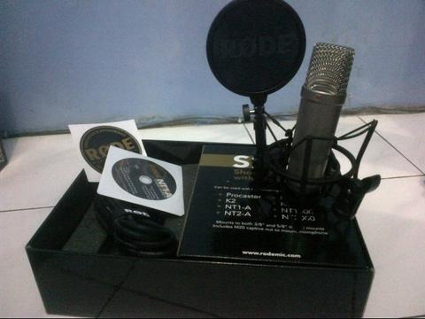 Microphone condenser Rode NT1A