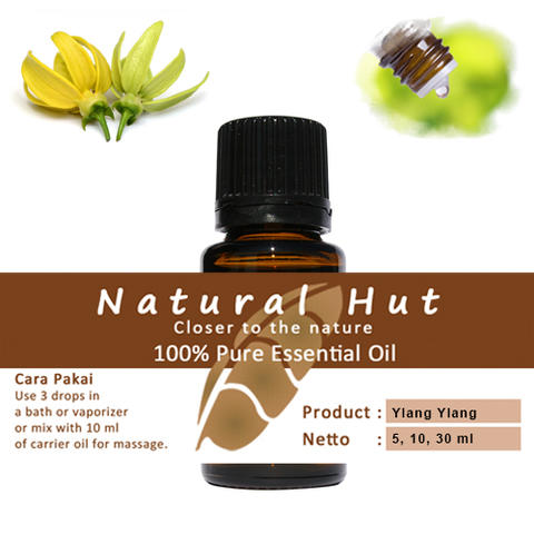100% PURE ESSENTIAL OIL (YLANG YLANG - KENANGA) - 10ml