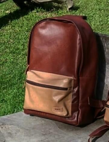 Argue backpack leather