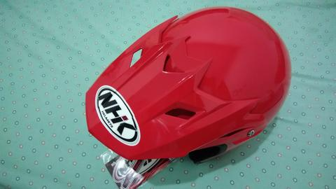 BNOB - Mulus Gress 100% NHK Supermoto Red Size.L