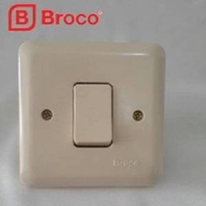 BROCO Saklar Engkel New Gee Urea IB Cream 6621 U / 6621U - Putih