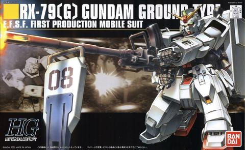 HG HGUC 1/144 RX-79[G] Gundam Ground Type - Gundam: The 08th MS Team