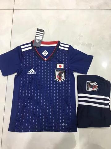 Jersey Bola Jepang Home Kids World Cup 2018