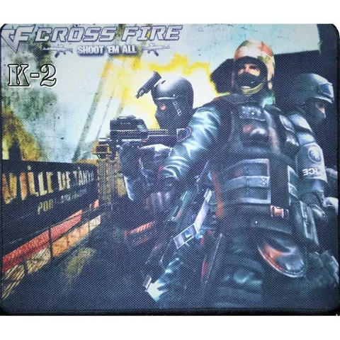 Mediatech Mousepad / Mousepad Gaming Karakter Soldier Type Kasar K-2