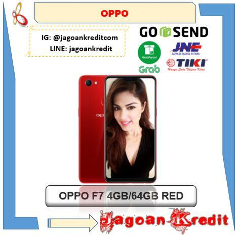 OPPO F7 4GB 64GB Red Edition - Kredit DP Ringan & Cash