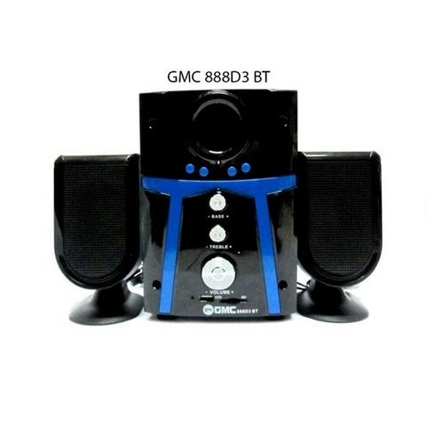 SPEAKER MULTI MEDIA GMC 888 D3 BLUETOOTH