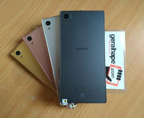 Sony Xperia Z5 Big 32GB EX japan AU Mulus original