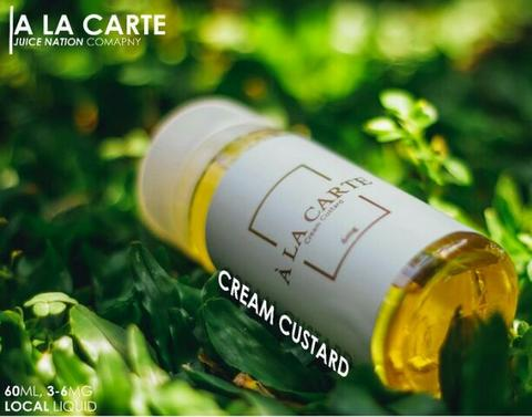 A LA CARTE A LA CARTE CREAM CRUSTAD by JUICE NATION PREMIUM LIQUID