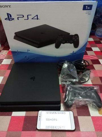 PS4 Slim CUH 2006B Fullset Mulus like new bergaransi