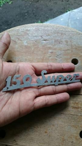 Emblem Badge Vespa Super 150 Vintage