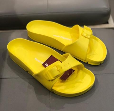 Hush Puppies Flip Flops Yellow