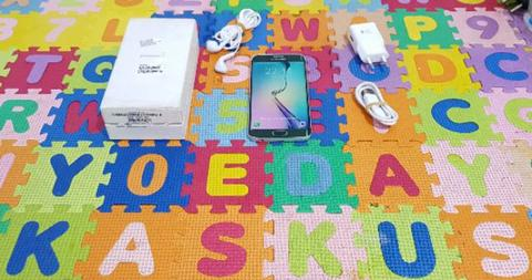 Sell Samsung Galaxy S6 Edge Green 128Gb Fullset Sein bisa tt