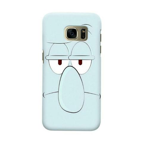 Squidward Samsung Galaxy S7 Edge Custom Hard Case