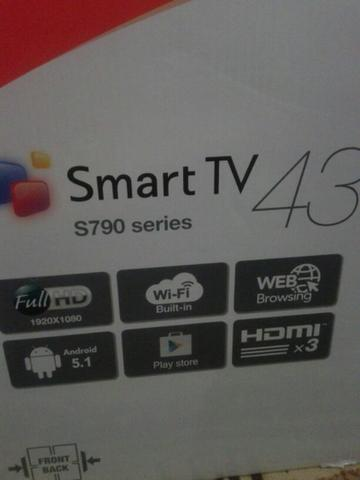 SmartTV ANDROID 43inch DAEWOO L43S790. BARUUUU
