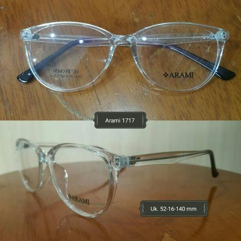 Kacamata minus normal plus silinder anti radiasi frame bening