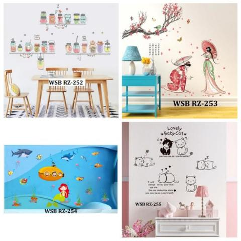 Sticker Dinding Wallsticker Stiker 17
