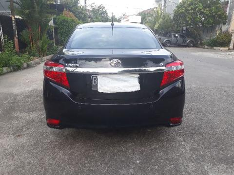 Toyota new Vios G 1.5 matic facelift th 2014 hitam mulusss
