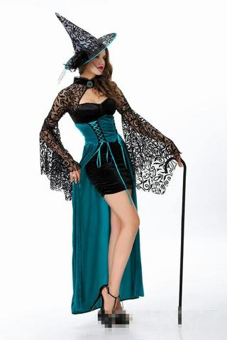 Witch Costume - Blue Kostum Witch