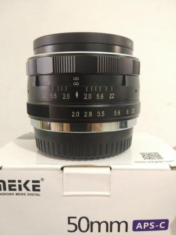 lensa meike 50mm for fujifilm