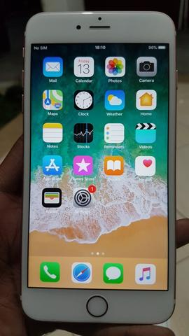 iPhone 6S Plus 128GB Rose Gold Lengkap Ex Garansi Inter Singapore 98% Mulus
