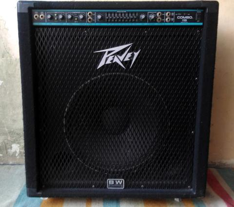 Bass Amplifier Peavey Combo 115 Made in : USA