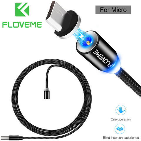 Floveme Magnetic Charging Micro USB Cable