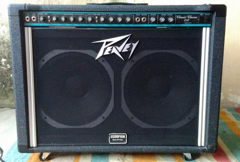 Guitar Amplifier Peavey Classic Chorus 212 Made in : U.S.A
