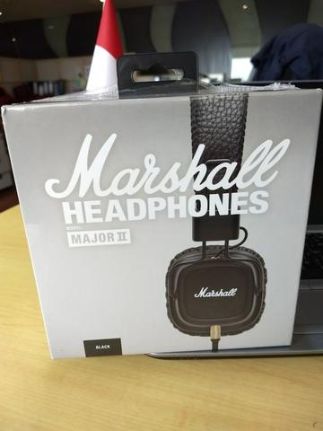 ORIGINAL BNIB Marshall Headphone Major II Black