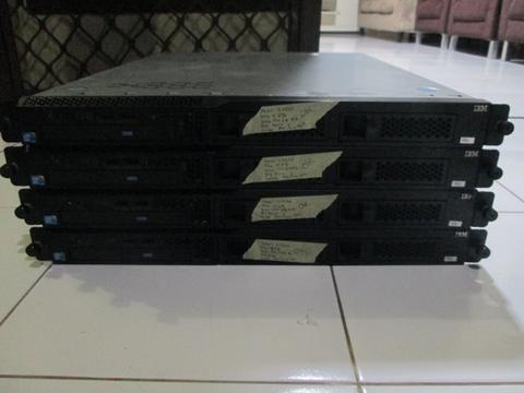 Server IBM Rackmount X3250 M3 Intel Xeon Quadcore HardDisk 500 Gb