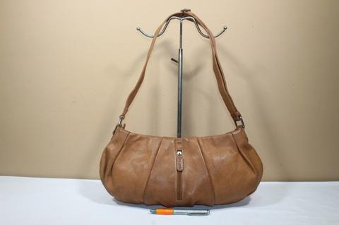 Tas branded PIARD Brown leather sling bag second bekas original asli