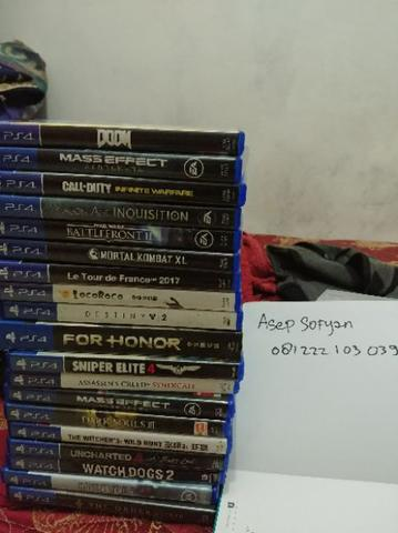 kaset bd ps4 second