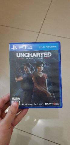 BD KASET GAME PS4 UNCHARTED LOST LEGACY