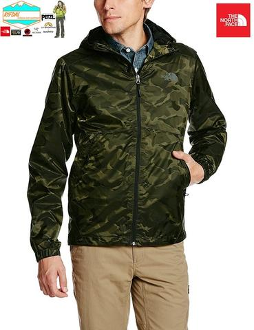 TNF THE NORTH FACE MENS MILLERTON JACKET SIZE M MENS BLACK INK GREEN CAMO