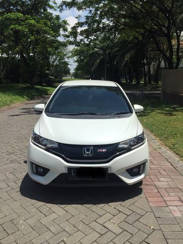 All New Jazz RS 2014 A/T White Tangan Pertama SURABAYA