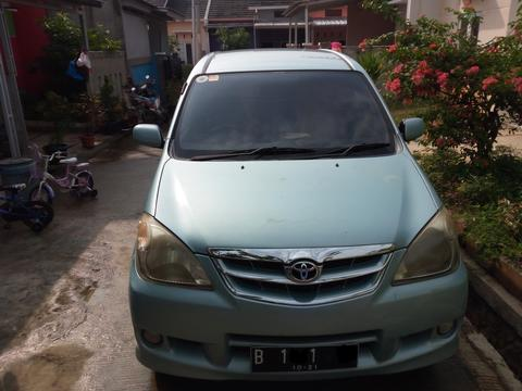 Avanza 1.3G Tahun 2006 Manual Biru Metalik